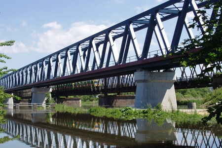 Railway bridge Deggendorf